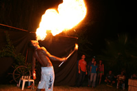 Fire Dancing Photo Gallery 3 (Antalya, Alanya)