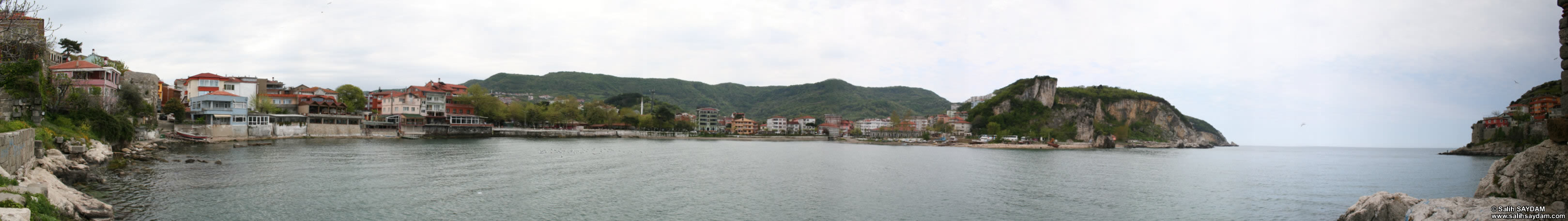 Panorama of Little Harbour 3 (Bartin, Amasra)