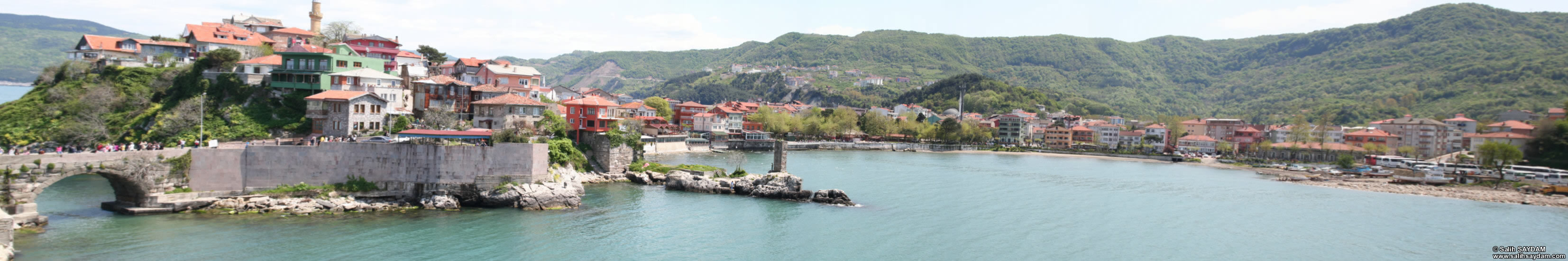 Panorama of Little Harbour 8 (Bartin, Amasra)