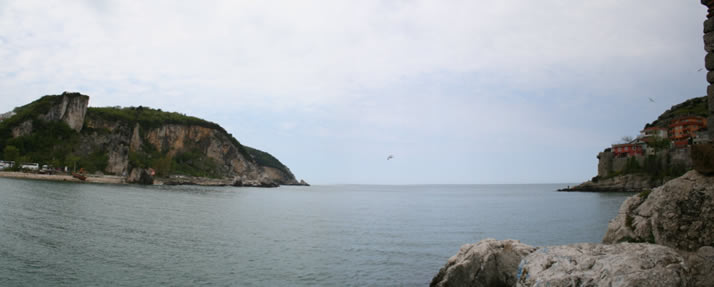 Panorama of Little Harbour 5 (Bartin, Amasra)