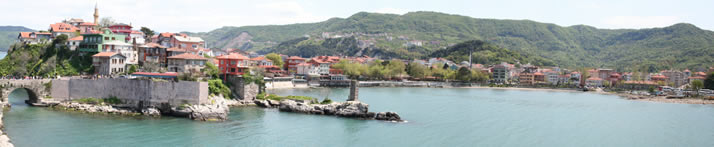 Panorama of Little Harbour 7 (Bartin, Amasra)
