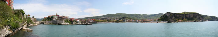 Panorama of Little Harbour 11 (Bartin, Amasra)