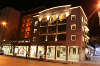 Historical Building of Is Bank in Bursa Photo (Night) (Bursa)
