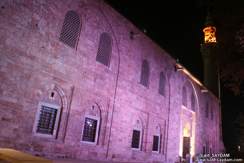 Grand Mosque (Ulu Camii) Photo Gallery 1 (Night) (Bursa)