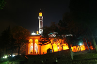Yildirim Mosque Photo Gallery (Night) (Bursa)