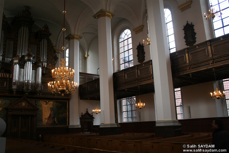 Church of the Holy Ghost Photo Gallery 2 (Inside) (Copenhagen, Denmark)