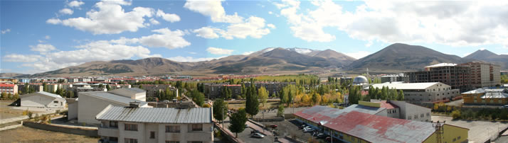 Panorama of Erzurum and Palandoken Mounts 1 (Erzurum)