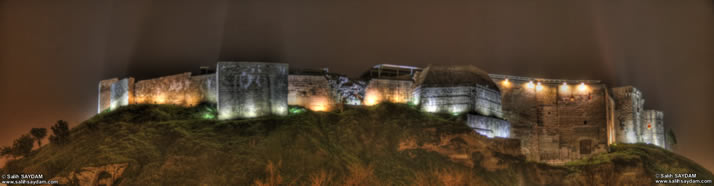 Panorama of Castle of Gaziantep 1 (At Night) (Gaziantep)