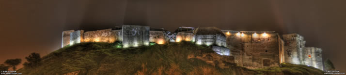 Panorama of Castle of Gaziantep 2 (At Night) (Gaziantep)