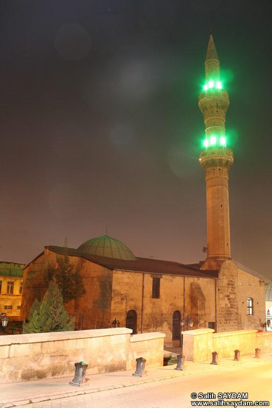 Sirvani Mosque (Şirvani Camii) Photo Gallery (At Night) (Gaziantep)
