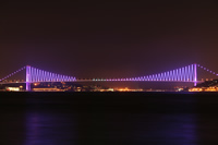 Bosphorus Bridge Photo Gallery 6 (Night) (Istanbul)