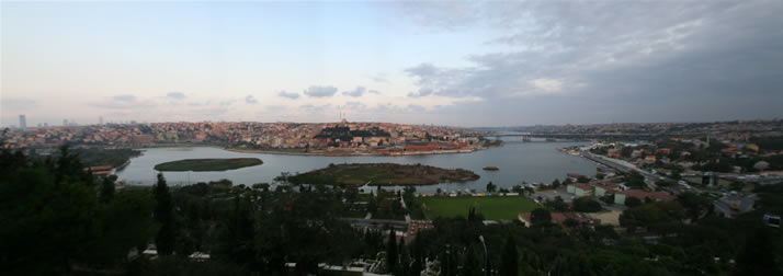 Panorama of Istanbul from Hill of Pierre Lotti 2 (Istanbul)