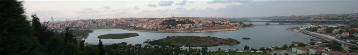 Panorama of Istanbul from Hill of Pierre Lotti 1(Istanbul)