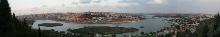 Panorama of Istanbul from Hill of Pierre Lotti 5 (Istanbul)