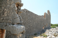 Kanytella (Kanlidivane, Canytellis) Photo Gallery 5 (Bacilicas) (Mersin, Silifke)
