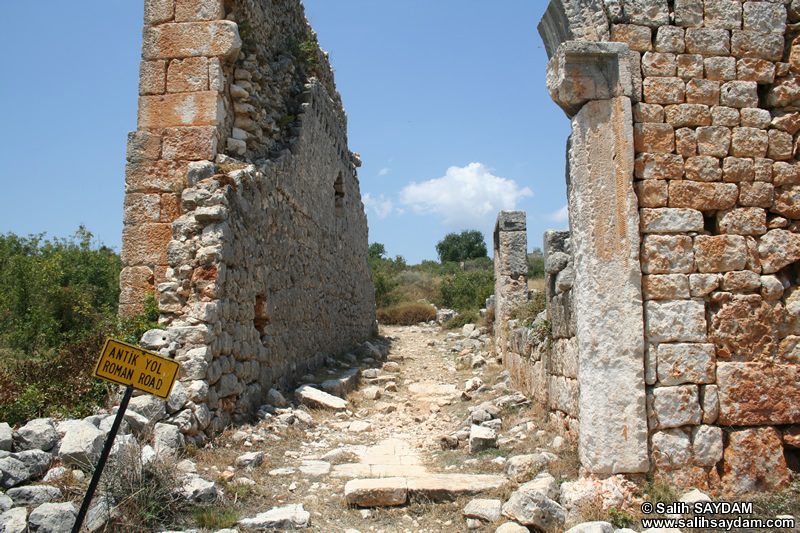 Kanytella (Kanlidivane, Canytellis) Photo Gallery 10 (Roman Road) (Mersin, Silifke)