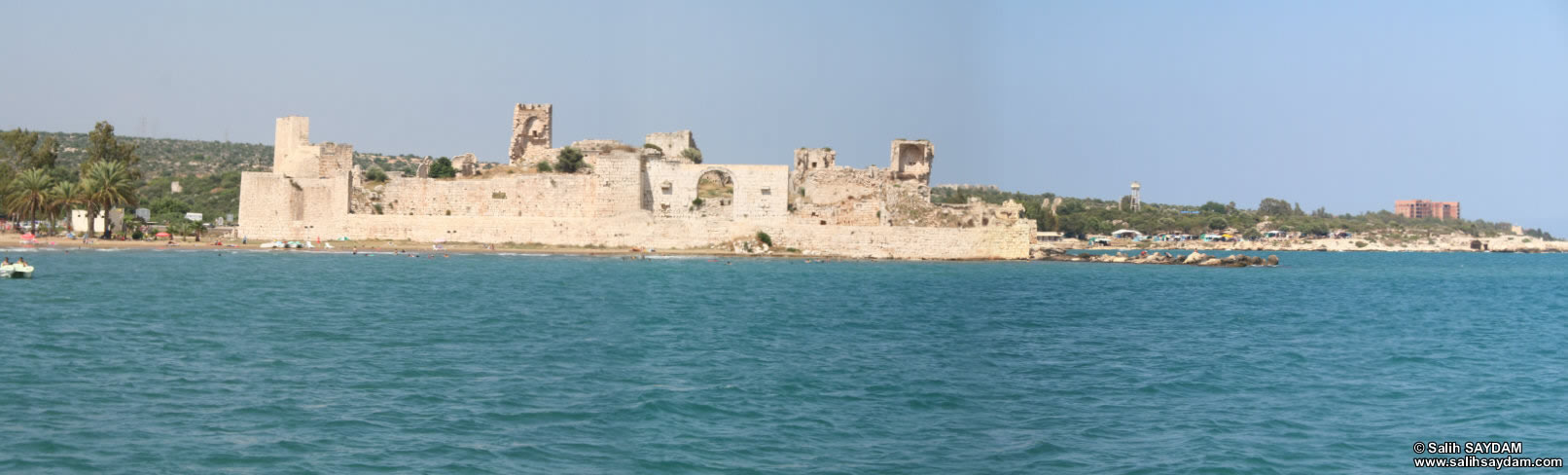 Panorama of Outer Castle (Korykos, Maiden's Castle) 3 (Mersin, Erdemli, Maiden's Castle)