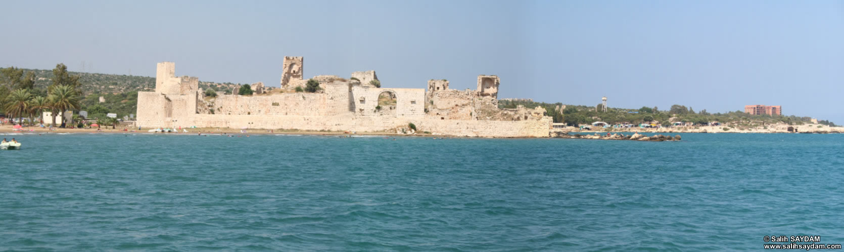Panorama of Outer Castle (Korykos, Maiden's Castle) 4 (Mersin, Erdemli, Maiden's Castle)