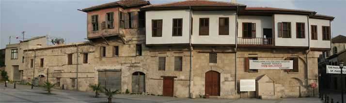 Panorama of Old Tarsus Houses (Mersin, Tarsus)
