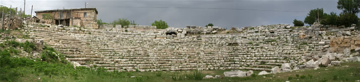 Panorama of Antique Theatre (Mersin, Silifke, Diocaesarea (Uzuncaburc))