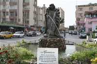 Sculpture of Sahmeran Photo Gallery (Mersin, Tarsus)
