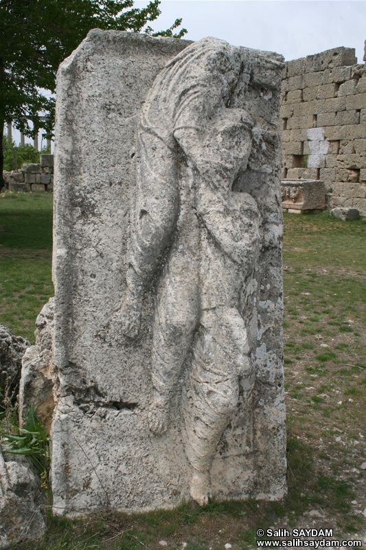 Diocaesarea (Uzuncaburc) Photo Gallery 8 (Three Graces Tomb Cover) (Mersin, Silifke)