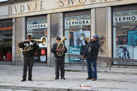 Street Musicians Photo Gallery (Warsaw, Poland)
