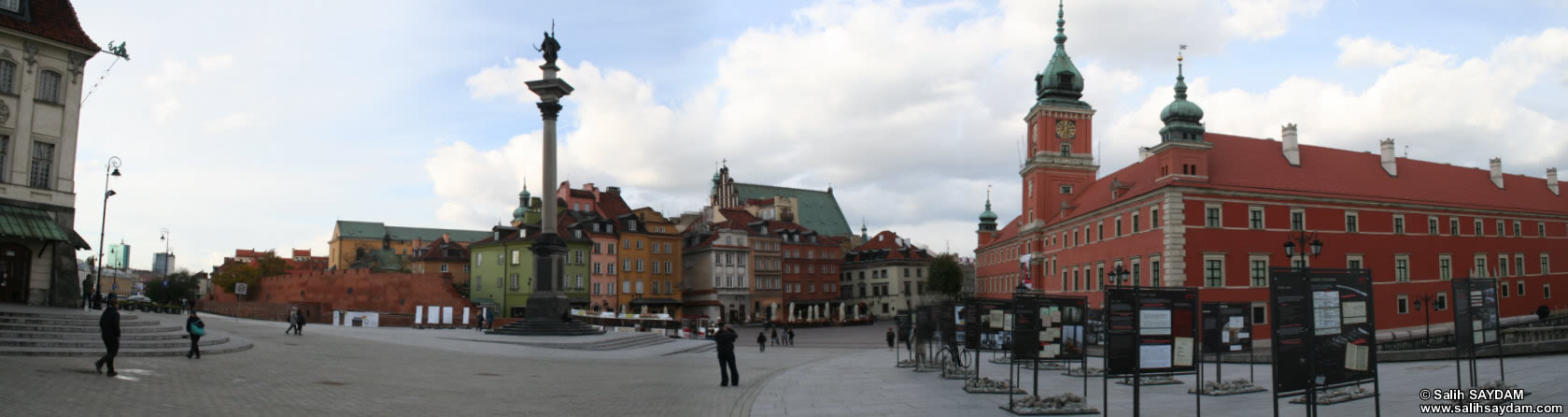 Old Town Panorama 08 (Castle Square, Warsaw, Poland)