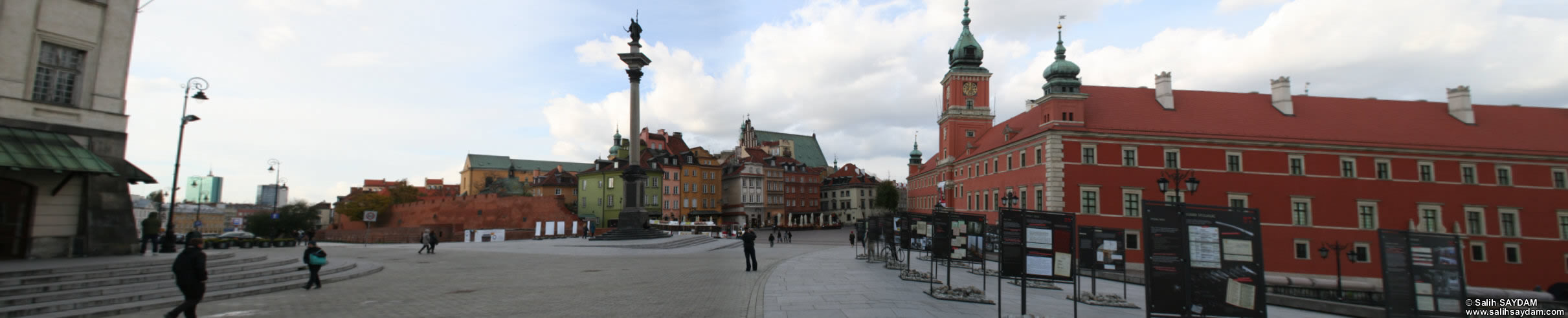 Old Town Panorama 09 (Castle Square, Warsaw, Poland)
