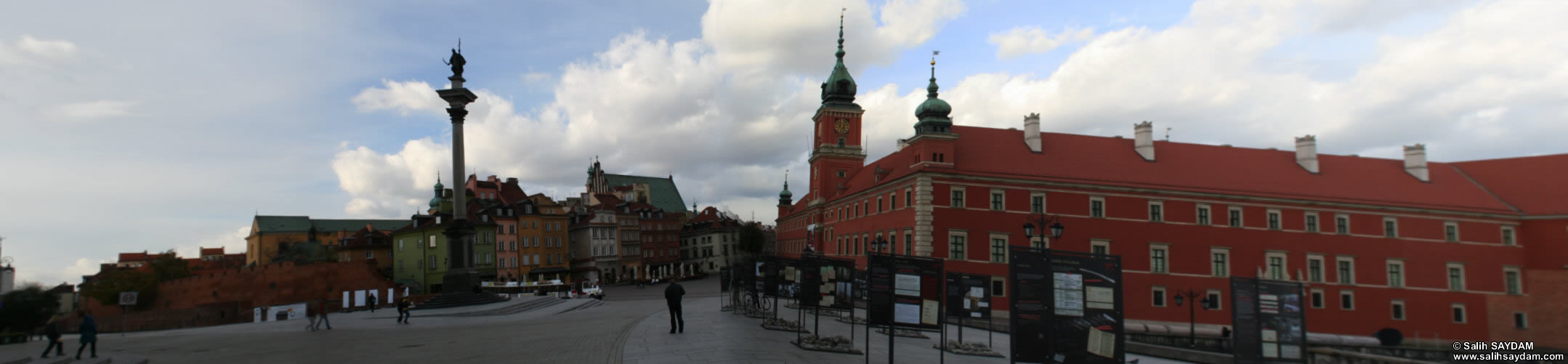 Old Town Panorama 11 (Castle Square, Warsaw, Poland)