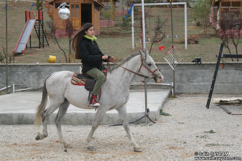 Dolunay Saydam Photo Gallery 4 (Horse Riding)