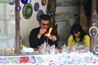 Karabuk Portrait Photo Gallery (Glass Artist in Safranbolu)