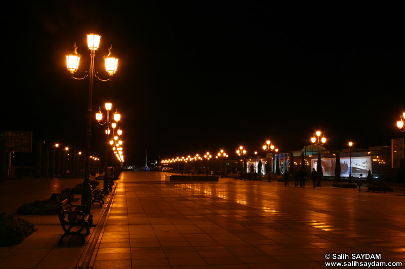 Independence Road Photo Gallery 3 (Night) (Samsun, Ilkadim)