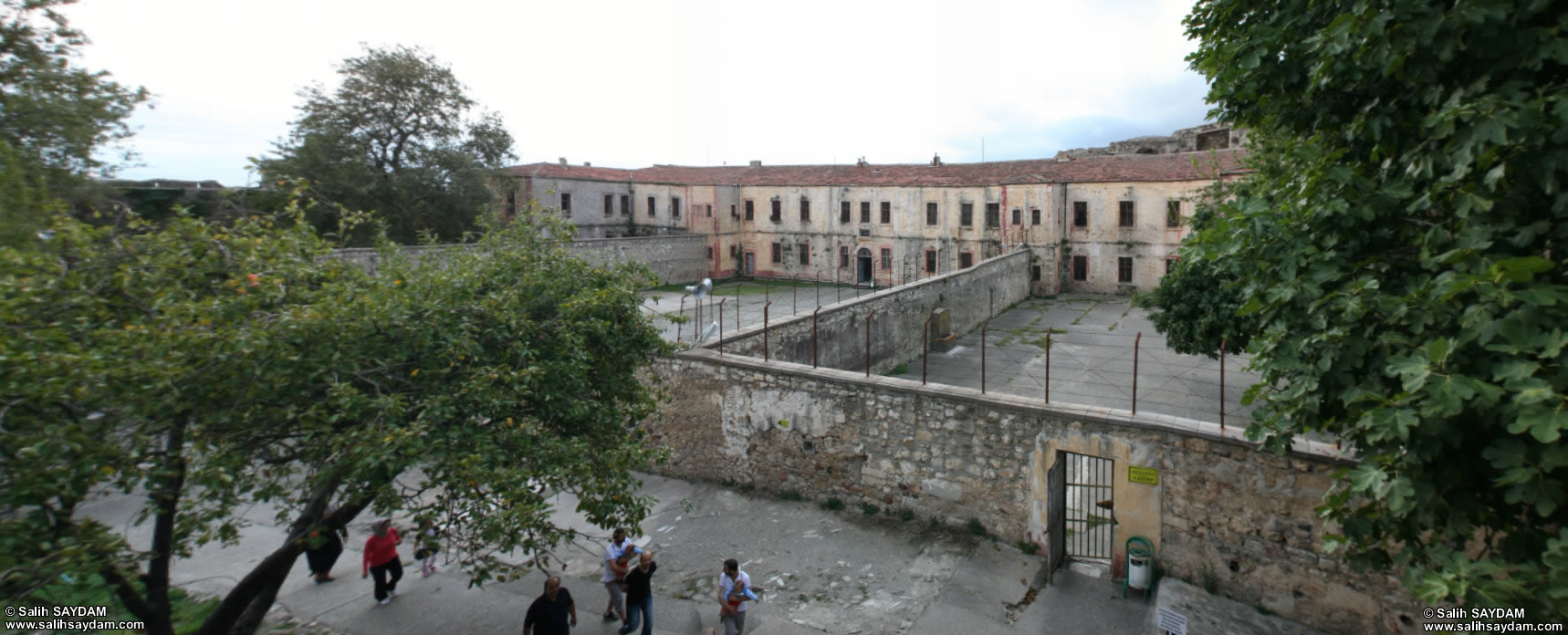 Panorama of Sinop Fortress Prison 2 (Sinop)