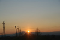 Sunset at Highway Photo Gallery 1