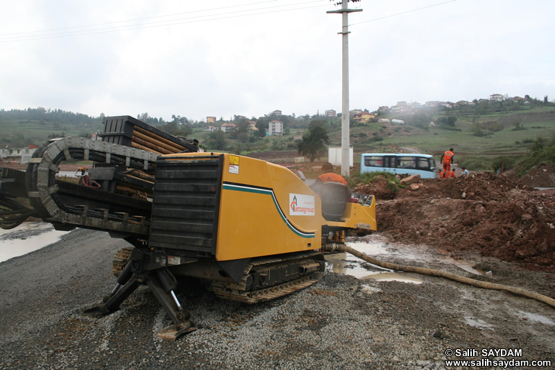 Horizontal Drilling Work Photo Gallery 3 (Eregli, Zonguldak)